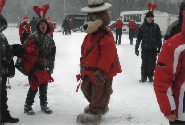 The RCMP Mascot
