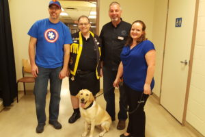 Clubs first sponsored Autism Assistance Guide Dog