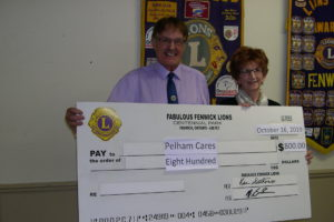 Donation to Pelham Cares
