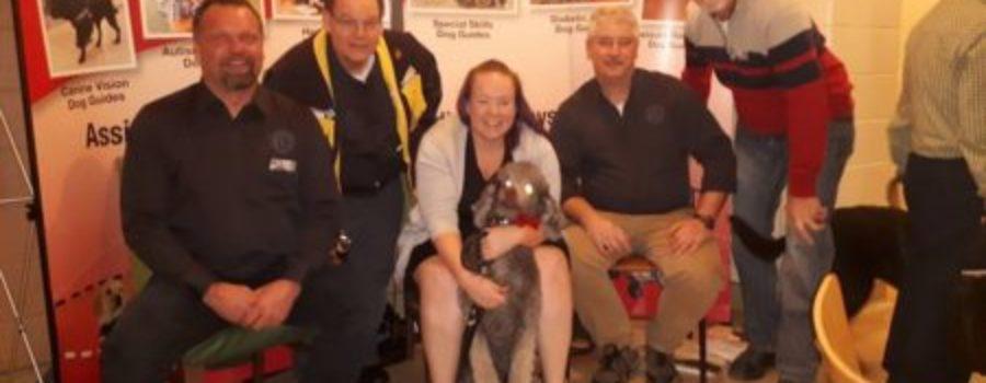 Club donates 19th Guide Dog