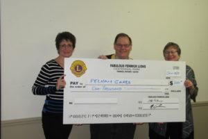 Donation to Pelham Cares