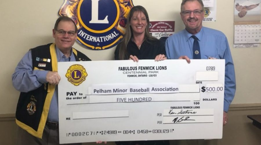 PMBA Receives Donation